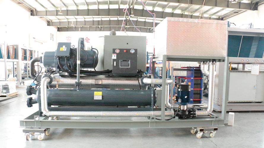 140P撬装式水冷乙二醇制冷机组