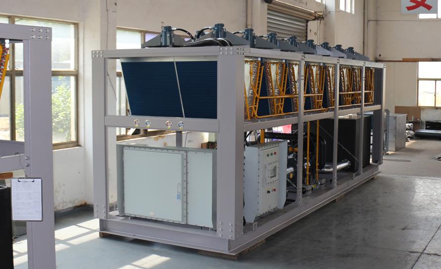 风冷低温螺杆式防爆制冷机组