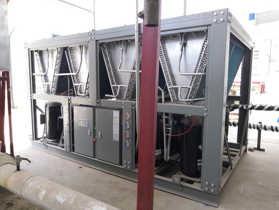 生物制药行业100P风冷工业冷水机使用案例