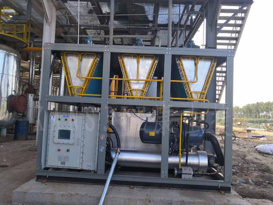 天然气行业用风冷低温螺杆防爆冷水机案例
