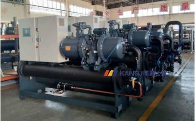 工业水冷式螺杆冷水机