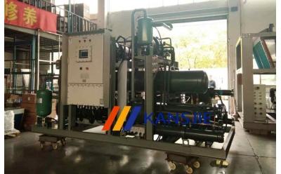 反应釜用复叠式超低温制冷机组