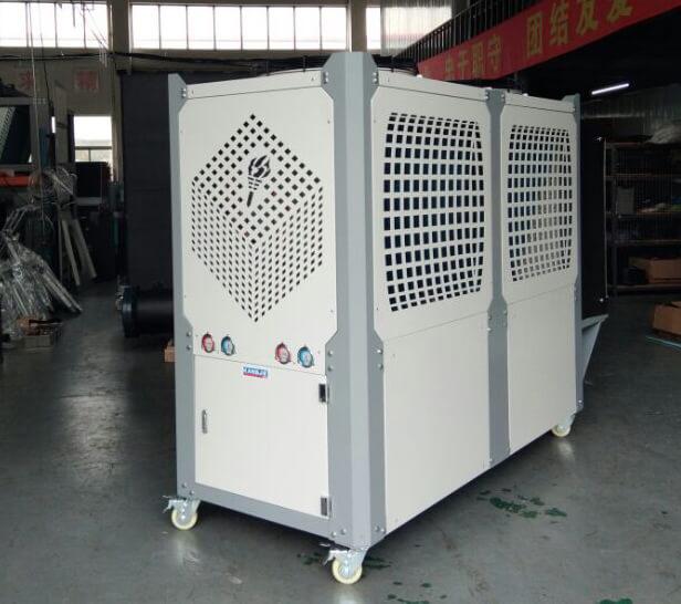 风冷式和水冷式冷水机怎么安装?