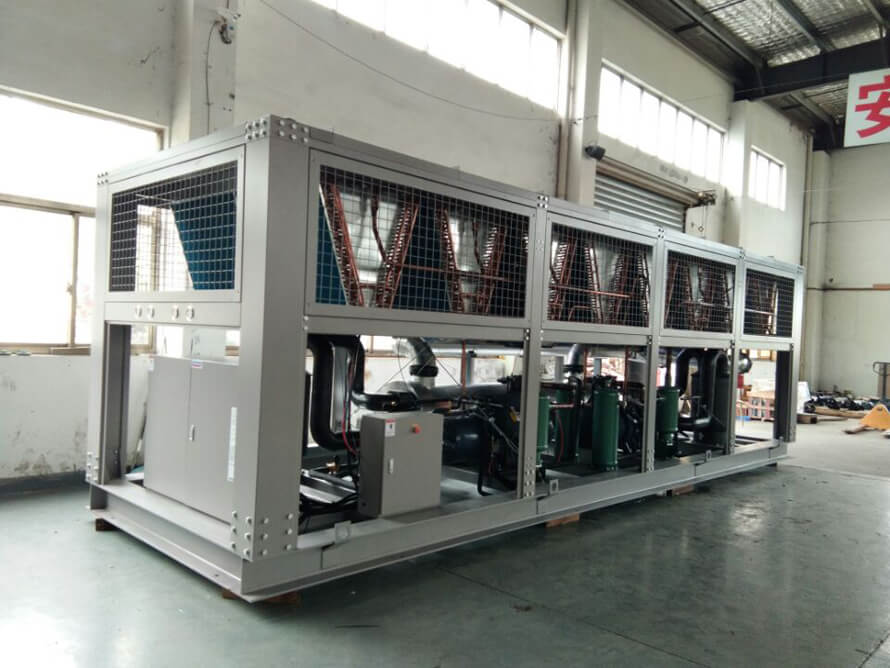 工业冷水机控制面板PLC的功能与特点